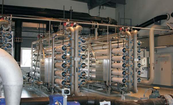 Установка для дегазации воды