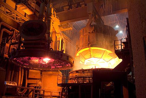 Печь дуговая, для плавки металла
