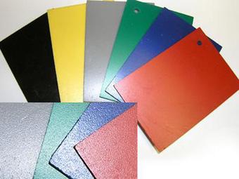 Разные цвета формовочного материала