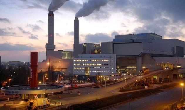 Мусоросжигательный завод в Вознесенске