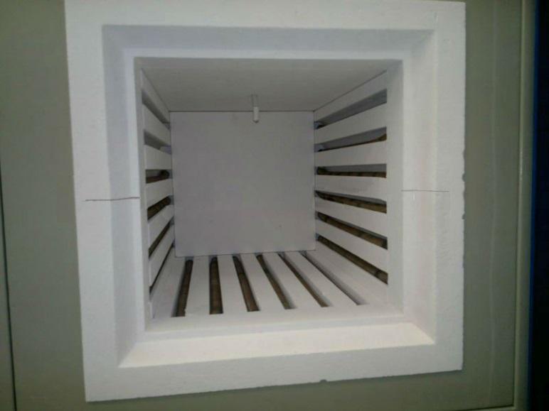 Спиральные нагреватели в муфельной печи